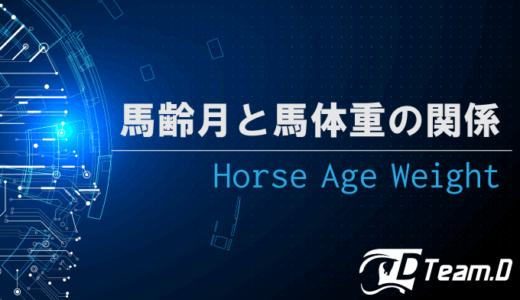 馬齢と季節と馬体重の関係
